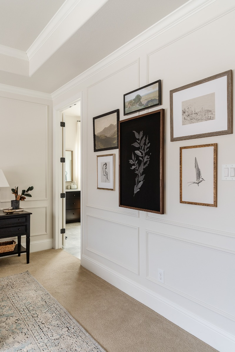 Eclectic Gallery Wall Final