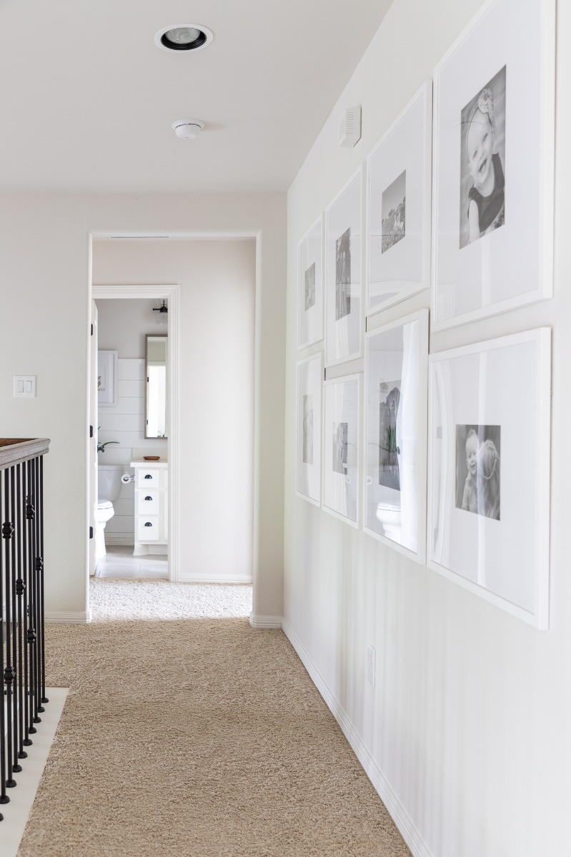 Staggered Gallery Wall Final