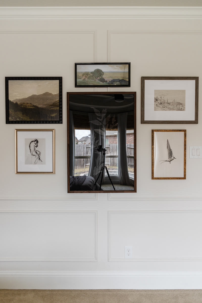Standard Acrylic Gallery Wall Reflection