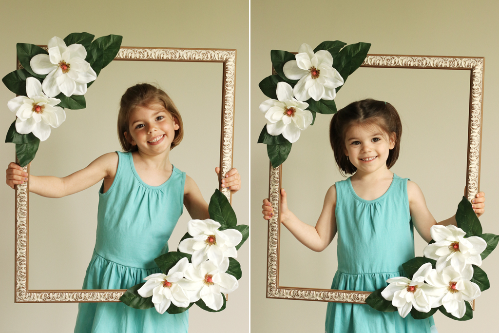 Floral Photo Booth Models