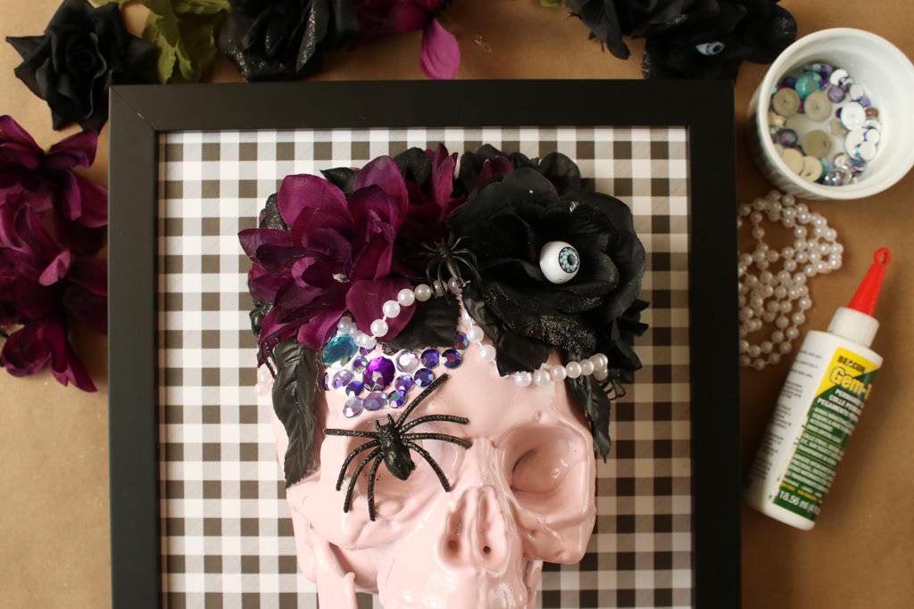 Halloween Skull Art Gems