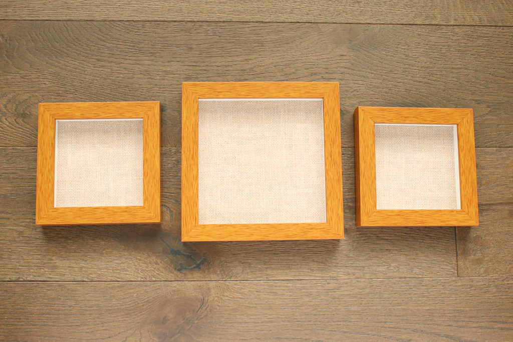 Frames with Burlap