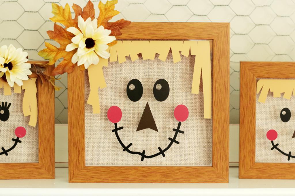 Scarecrow Shadow Box