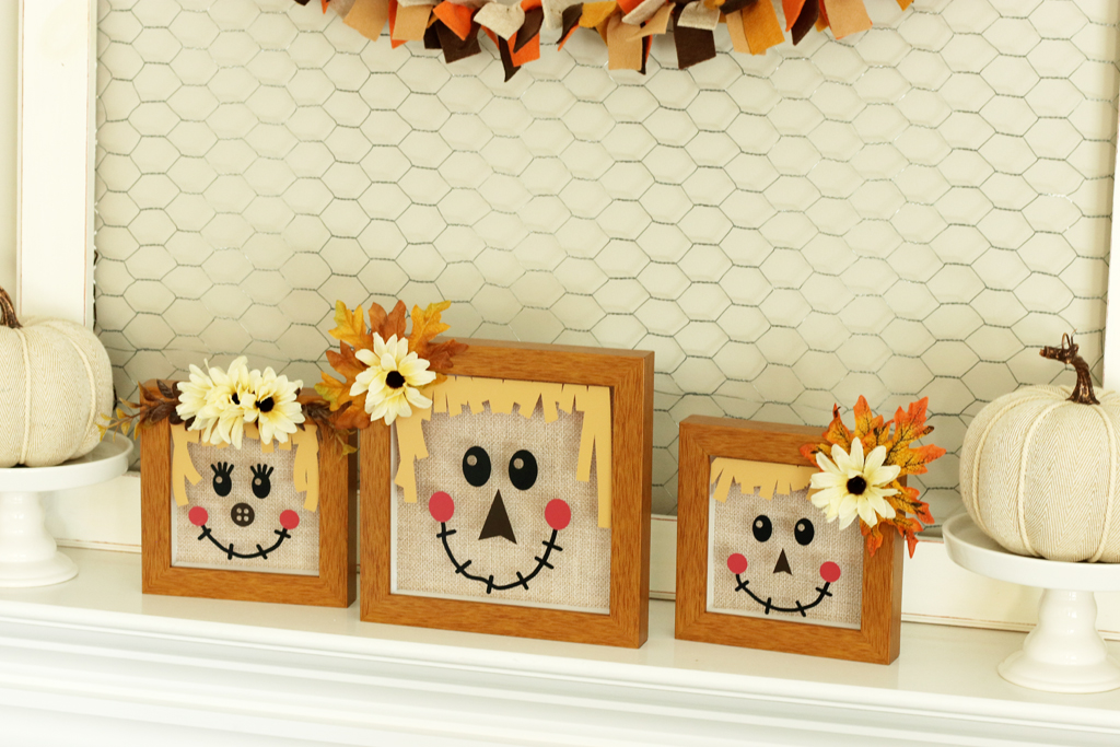 Scarecrow Shadow Boxes angled