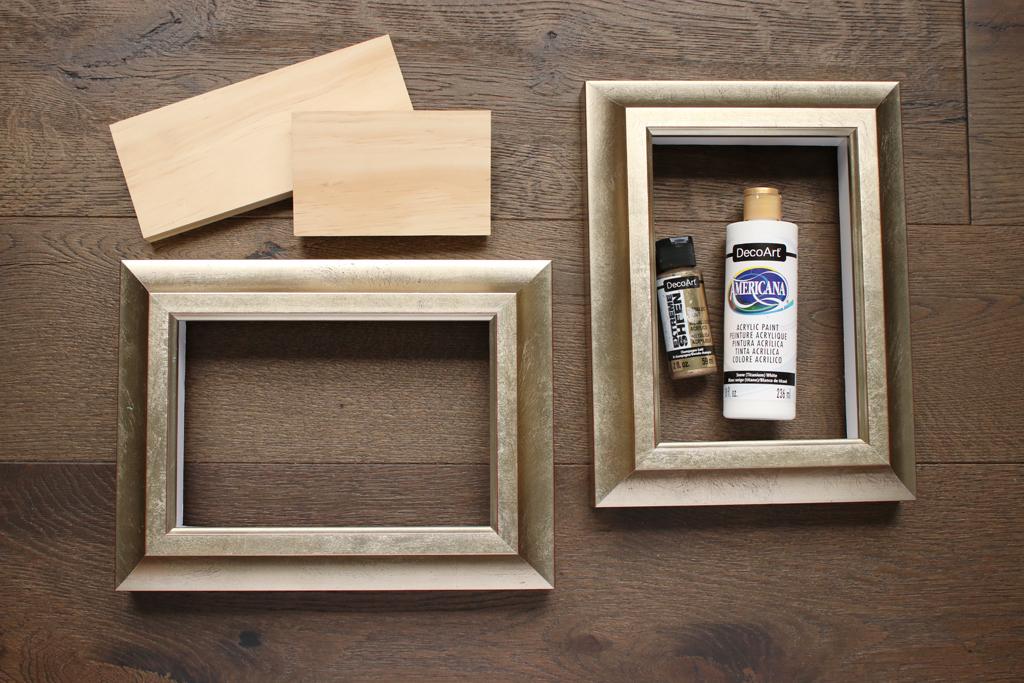 DIY Shelf Frame Supplies