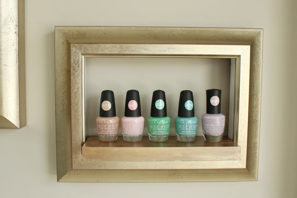 DIY Frame Shelf Final