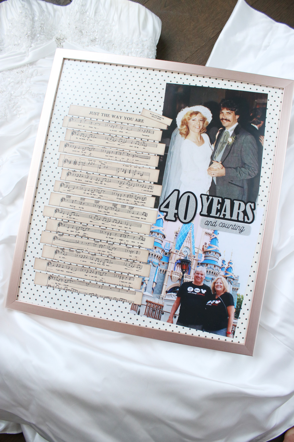Wedding Song Gift Vertical Angled