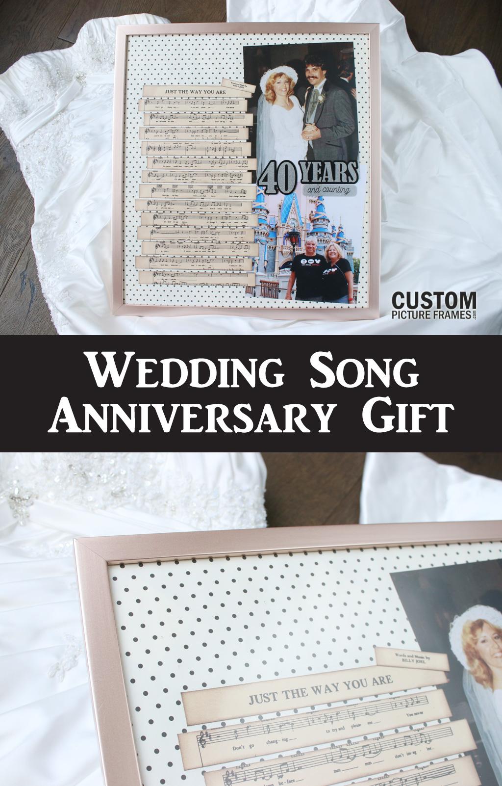 Wedding Song Anniversary Gift Idea Pinterest