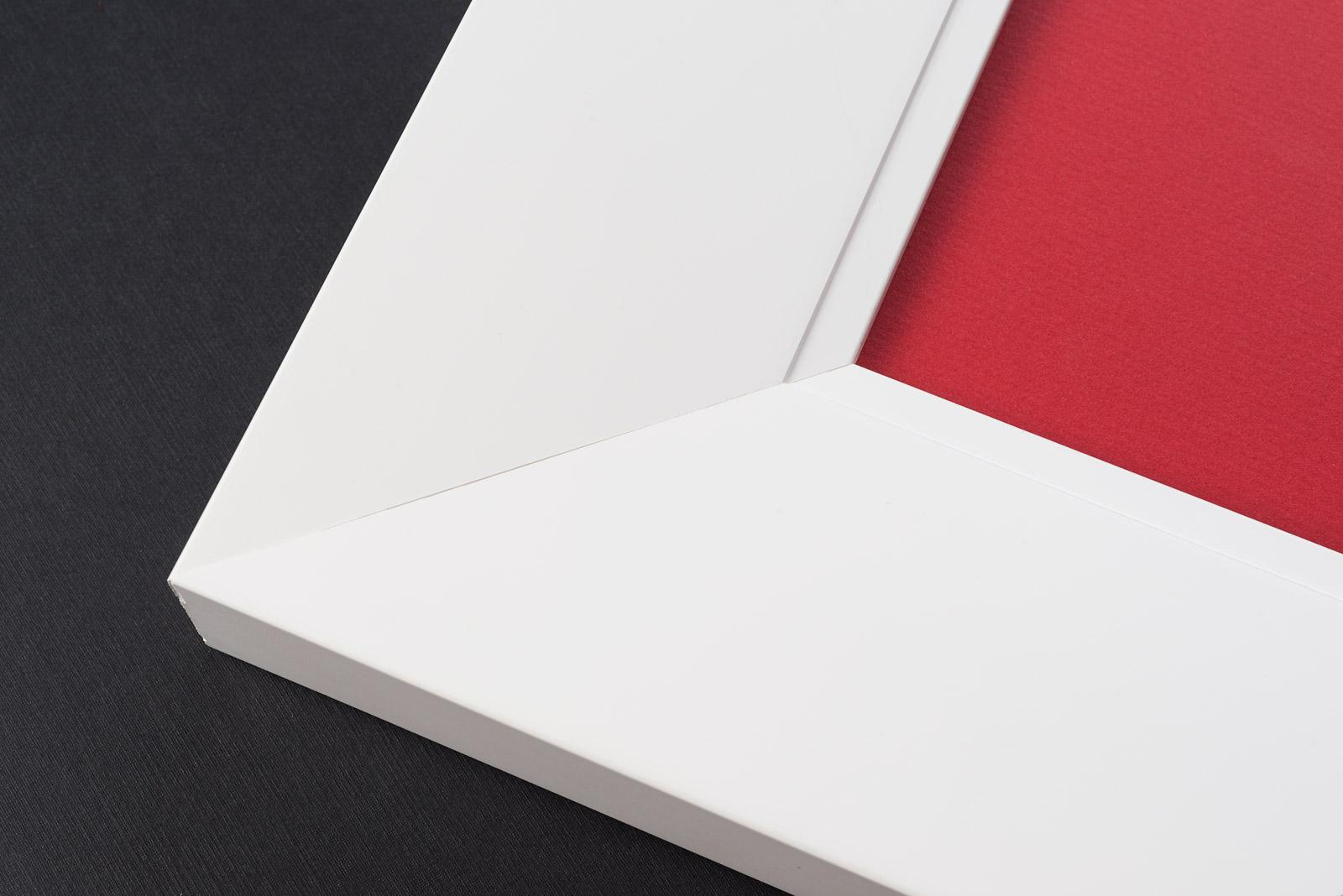 White Canvas Frames | Custom Picture Frames