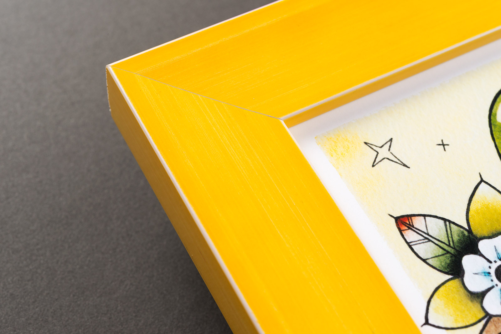 Yellow Picture Frames | Custom Picture Frames