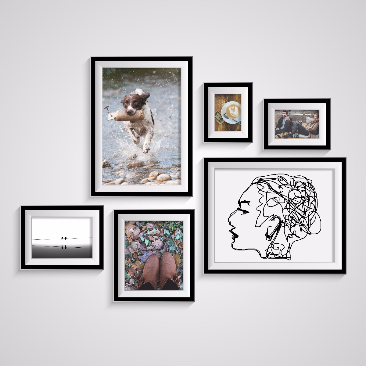 Theyu0027re Just The Right Size To Put Your Pictures Or Document On Display.  Our 11x17 Frames Are The Perfect Size To Help Make A Statement In Your Home  Or ...